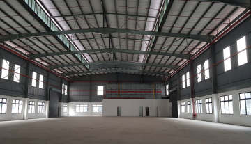 Factory at Nusa Cemerlang Industrial Park (61k bua)